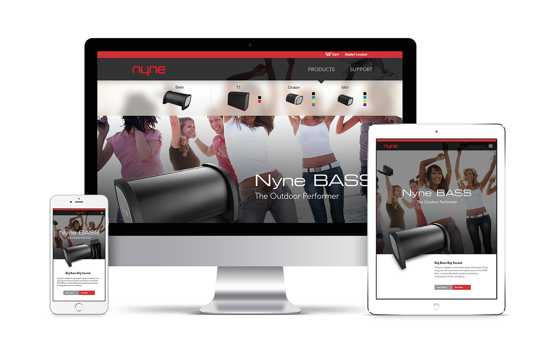 Nyne website