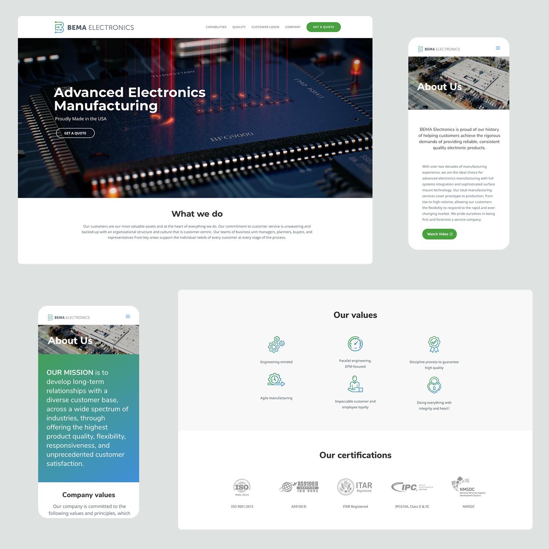 Bema website